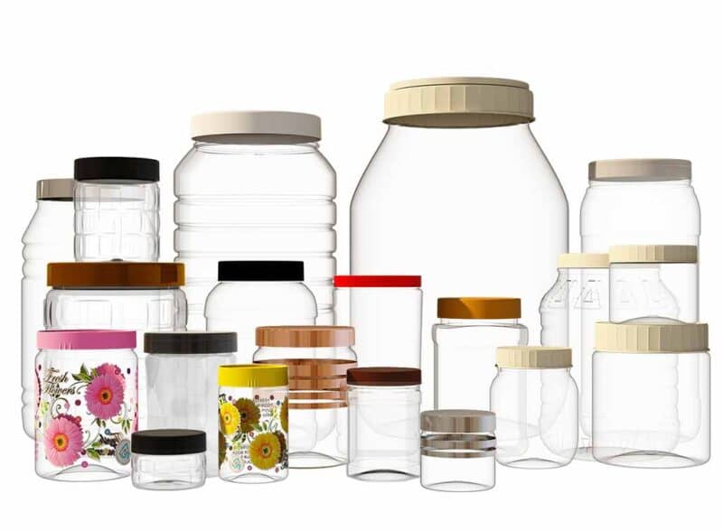 container and jars