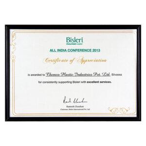 Bisleri All India Conference 2013