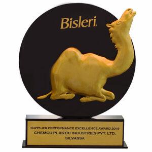 Bisleri Supplier Performance Excellence Award 2019