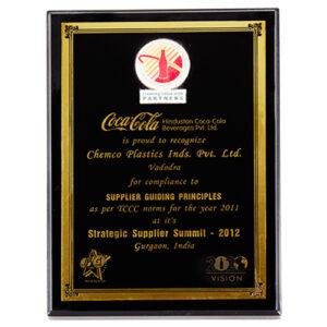 Coca Cola Strategic Supplier Summit 2012
